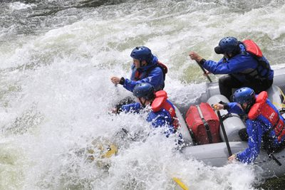 River Rafting in Colorado.