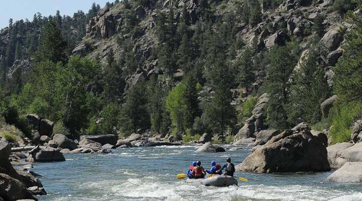 River Runners at Browns Canyon.