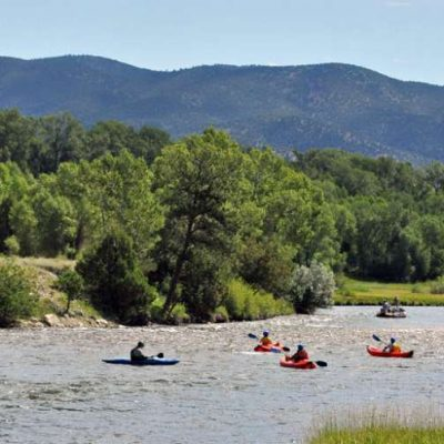 Kayak Tours on Colorado's Arkansas River