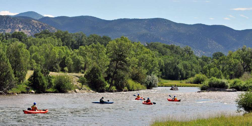 Kayak Tours on Colorado's Arkansas River