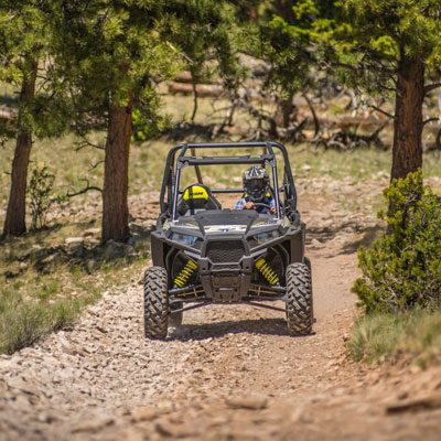 Side-by-side ATV tours near the Royal Gorge.