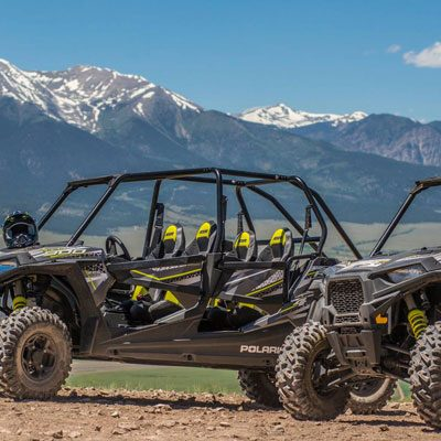 Buena Vista, Colorado Side-by-Side ATV Rentals.