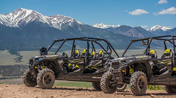 Buena Vista, Colorado Side-by-Side ATV Rentals.